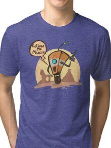Follow me minion Tri-blend T-Shirt