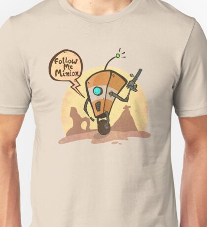Follow me minion Unisex T-Shirt