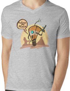 Follow me minion Mens V-Neck T-Shirt