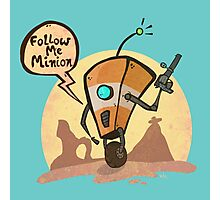 Follow me minion Photographic Print