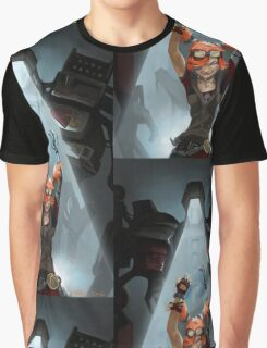 Gaige // Borderlands Art #2 Graphic T-Shirt