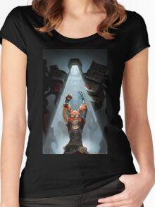 Gaige // Borderlands Art #2 Women's Fitted Scoop T-Shirt