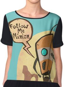 Follow me minion Chiffon Top