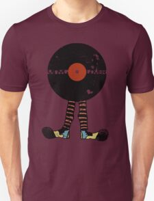 Funny Vinyl Records Lover - Grunge Vinyl Record Notebooks and more Unisex T-Shirt