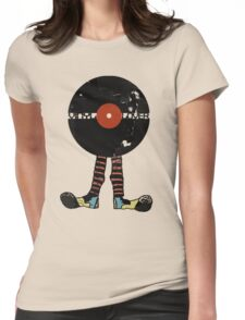 Funny Vinyl Records Lover - Grunge Vinyl Record T-Shirt