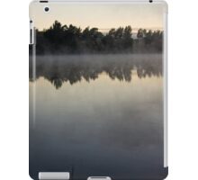 Frosty and Foggy Morning at Lake Tuggeranong (11) iPad Case/Skin