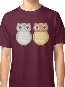 Cool Owl & Friendly Owl Classic T-Shirt