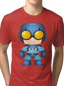 Old School Blue Beetle Pop Syles Tri-blend T-Shirt