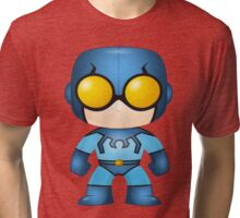 Old School Blue Beetle Pop Syles Tri-blend T-Shirt