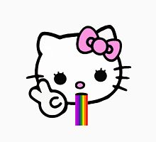 Hello Kitty Puking Rainbow Unisex T-Shirt
