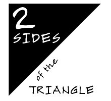 Two Sides Of The Triangle Photographic Print