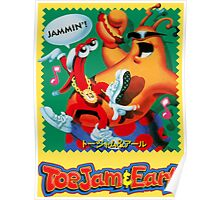 Toejam & Earl (Japanese Mega Drive Box Art) Poster