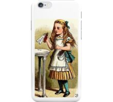 Alice About to Drink the Potion iPhone Case/Skin