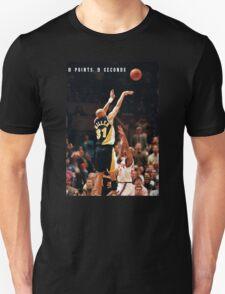 8 POINTS, 9 SECONDS. Unisex T-Shirt