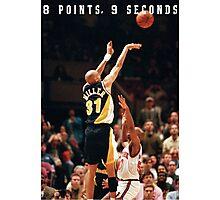 8 POINTS, 9 SECONDS 2.0 Photographic Print