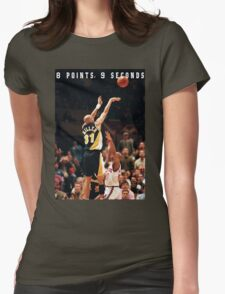 8 POINTS, 9 SECONDS 2.0 Womens Fitted T-Shirt