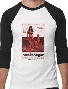 SWEET SUGAR B MOVIE Men's Baseball ¾ T-Shirt