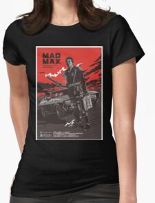 Mad Max Art #2 Womens Fitted T-Shirt
