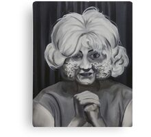 The Woman In The Radiator Canvas Print