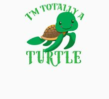 I'm totally a TURTLE Womens Fitted T-Shirt