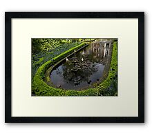In the Heart of Amsterdam Hidden Tranquility  Framed Print