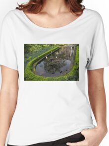 In the Heart of Amsterdam Hidden Tranquility  Women's Relaxed Fit T-Shirt