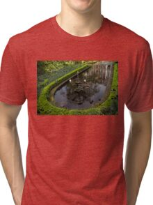 In the Heart of Amsterdam Hidden Tranquility  Tri-blend T-Shirt