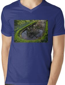 In the Heart of Amsterdam Hidden Tranquility  Mens V-Neck T-Shirt