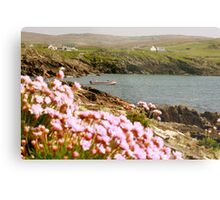 Malinmore Pier, Glencolmcille, Co. Donegal  Metal Print