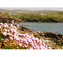 Malinmore Pier, Glencolmcille, Co. Donegal  Photographic Print