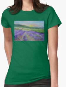 An Evening in Provence WC150601-12 Womens Fitted T-Shirt