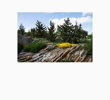 Rock Garden With Pines Unisex T-Shirt