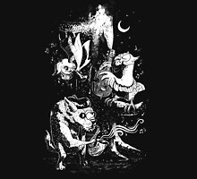 The Children of the Night - Black & White T-Shirt