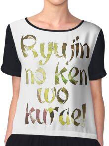 Ryujin no ken wo kurae! - Genji Ulti Chiffon Top