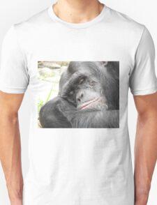 Sleeping Chimpanzee Unisex T-Shirt
