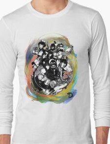 Tribute to Hayao Miyazaki (COLOUR) Long Sleeve T-Shirt