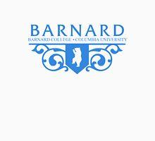 Barnard Logo- Blue Unisex T-Shirt