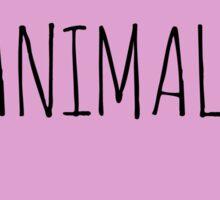 ANIMALS <3 Sticker