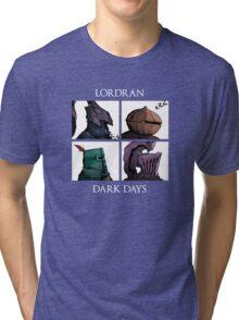Lordran-Dark Days Tri-blend T-Shirt