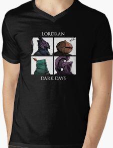 Lordran-Dark Days Mens V-Neck T-Shirt