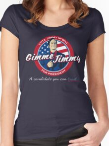 Better Elect Jimmy (Version 1) Women's Fitted Scoop T-Shirt