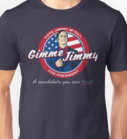 Better Elect Jimmy (Version 1) Unisex T-Shirt