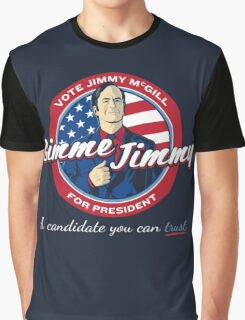 Better Elect Jimmy (Version 1) Graphic T-Shirt