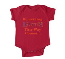 Something Hipster This Way Comes One Piece - Short Sleeve