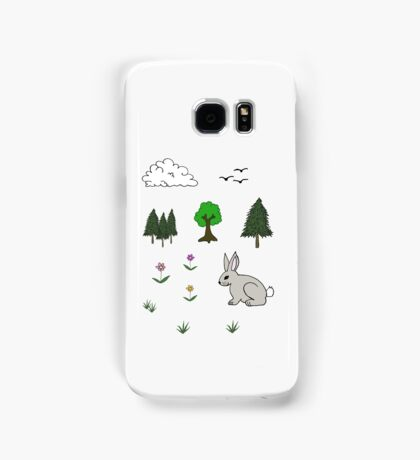 Nature Diorama Stickers  Samsung Galaxy Case/Skin