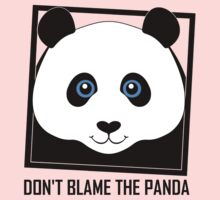 DON'T BLAME THE PANDA One Piece - Long Sleeve