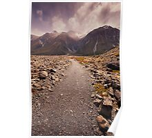 Mount Cook National Park Poster