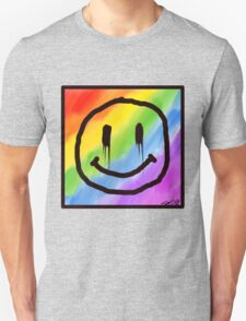 Happy. Unisex T-Shirt