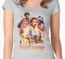 the nice guys Women's Fitted Scoop T-Shirt