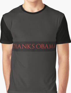 Thanks, Obama Graphic T-Shirt